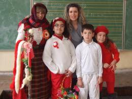 Баба Марта е при нас - ОУ Отец Паисий - град Варна