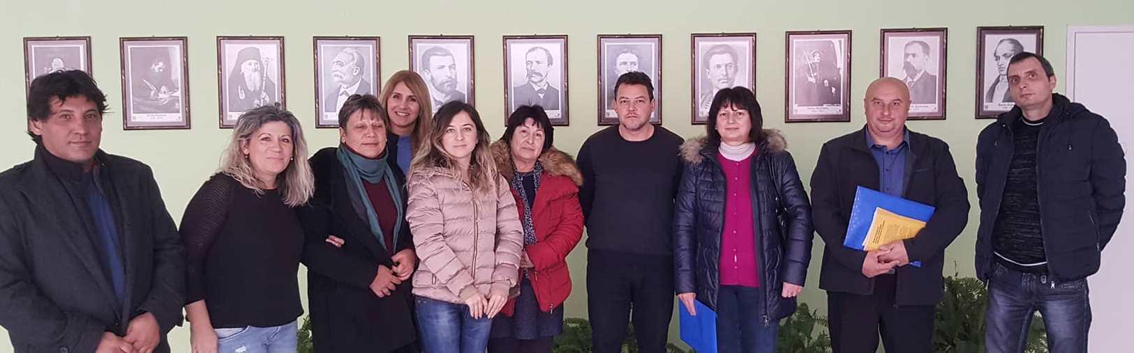 29.11.2018г, с част от екипа на ПГИ - Сливен